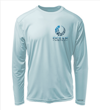 Load image into Gallery viewer, Ocean Habitats Shirt in Cloud Blue