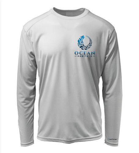 Ocean Habitats Shirt in Pearl Grey