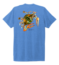 Load image into Gallery viewer, Ronnie Reasonover, The Crab, Crew Neck T-Shirt in Sky Blue