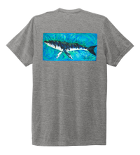 Load image into Gallery viewer, Ronnie Reasonover, The Whale, Crew Neck T-Shirt in Oyster Grey