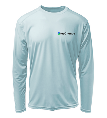 StepChange Performance Shirt in Cloud Blue