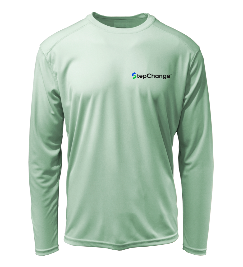 StepChange Performance Shirt in Sea Foam Green
