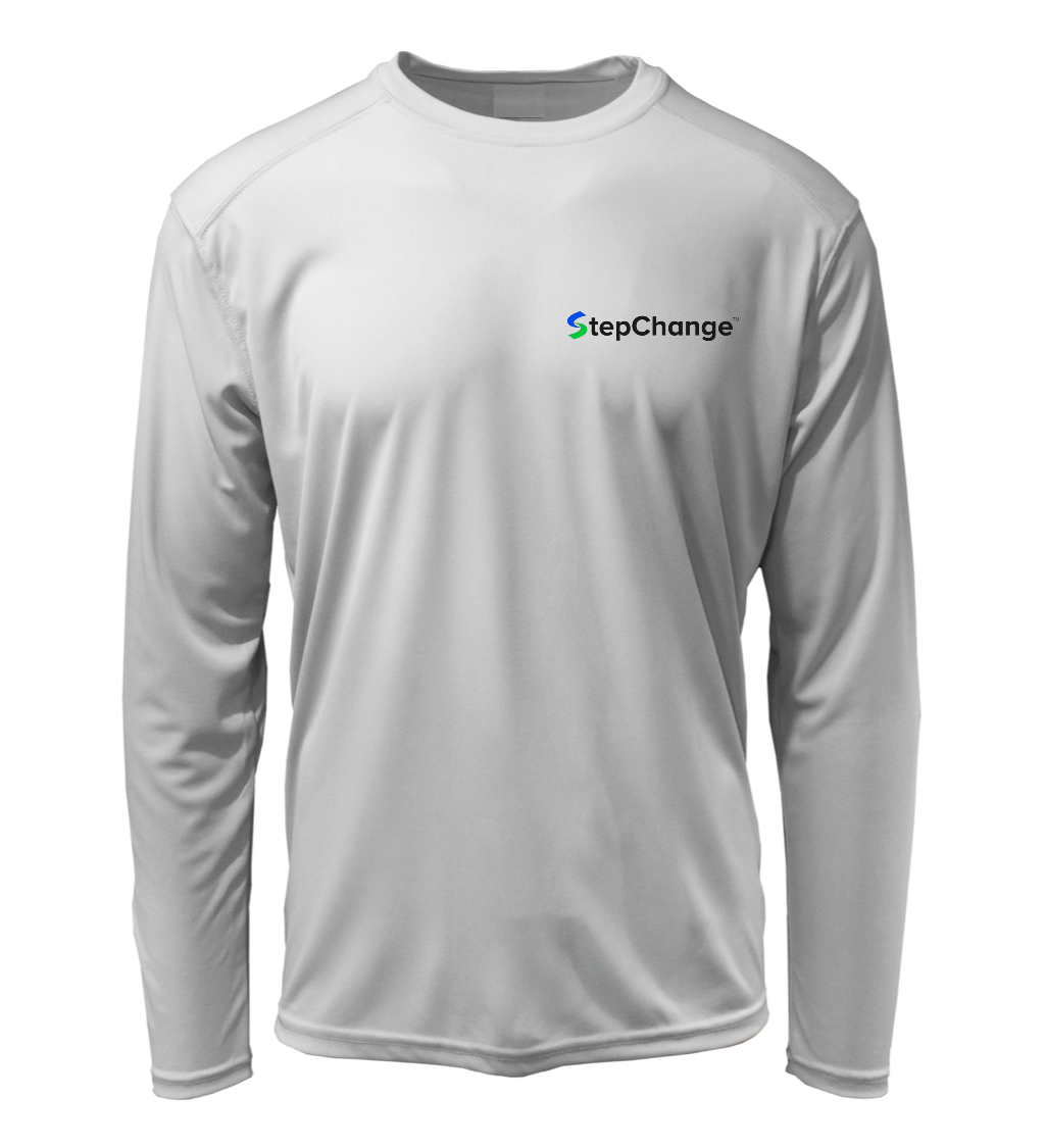 StepChange Performance Shirt in Pearl Grey