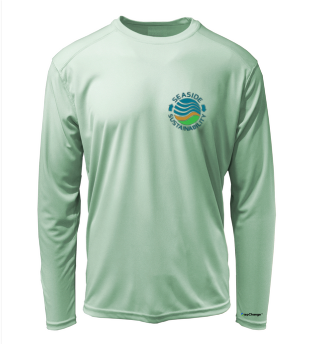 Seaside Sustainability Shirt in Sea Foam Green
