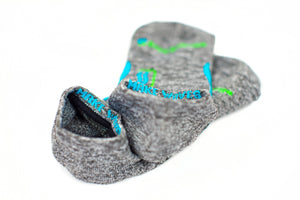 Ankle Sock 3-Pair Bundle in Oyster Grey