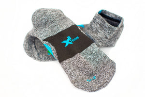 Ankle Sock in Oyster Grey
