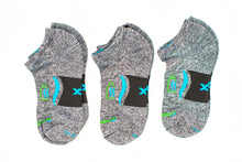 Load image into Gallery viewer, Ankle Sock 3-Pair Bundle in Oyster Grey *Buy2PairGet1Free Bundle*