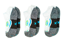 Load image into Gallery viewer, Ankle Sock 3-Pair Bundle in Whitecaps *Buy2PairGet1Free Bundle*