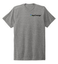 Load image into Gallery viewer, StepChange, Porpoise, Unisex Crew Neck T-shirt in Oyster Grey
