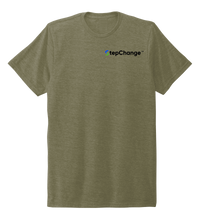 Load image into Gallery viewer, Lauren Gilliam, Recycle, Unisex Crew Neck T-shirt in Earthy Green