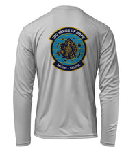 Load image into Gallery viewer, FORCE BLUE 100 YARDS OF HOPE Shirt in Pearl Grey