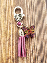 Load image into Gallery viewer, Butterfly Zipper Pull