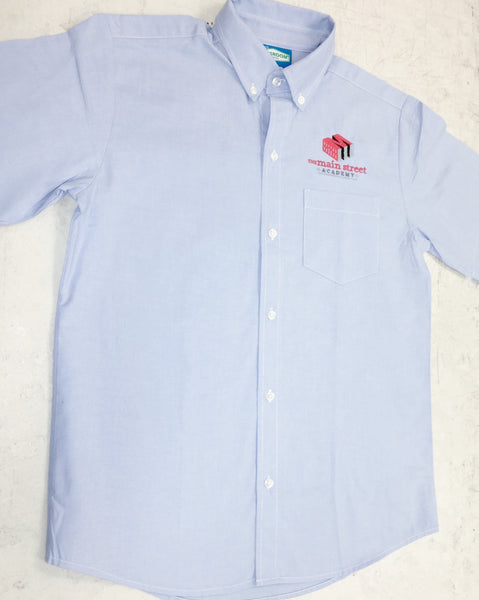 Oxford short sleeve-middle school