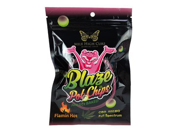 Mile High Cure Full Spectrum 500MG Blaze Pot Chips