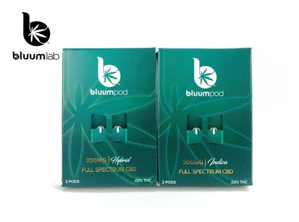 BluumLab Full Spectrum 300MG CBD Cartridge (2pcs)