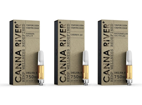 Canna River Delta 8 Vape Cartridge