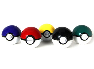 Pokemon Pokeball 3-Piece Aluminum Herb Spice Grinder | 40mm 1.5 inch