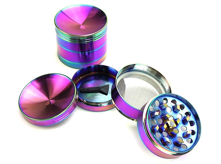 Sunken Ashtray Cap 4-Piece Metal Grinder D-2″