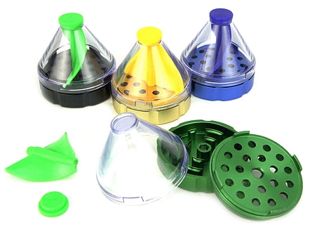 Cone-Shaped Herb Grinder Dispenser 1pc | 50mm 2 inch