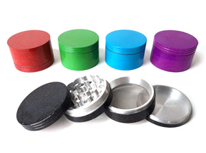 63mm 4-Part Colored Metal Grinder