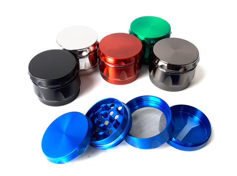 40mm 4-Part Colored Metal Grinder