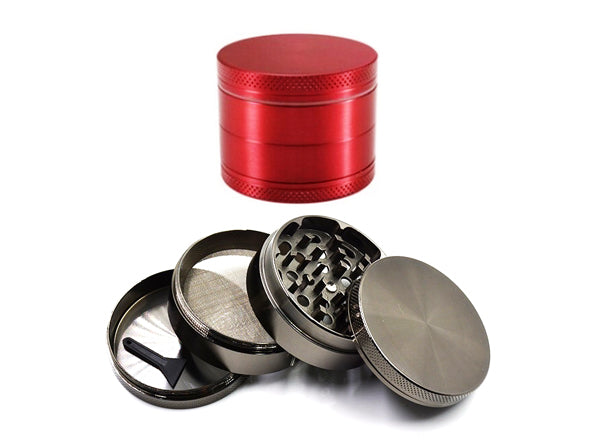 4-Part Colored Metal Grinder Random | 55mm 2.25 inch