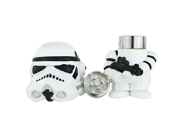 40mm 3-Part Star Wars Crusher Metal Herb Tobacco Grinder