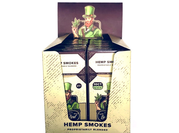 Lucky Leaf Hemp Smokes Herbal Cigarettes (10CT)