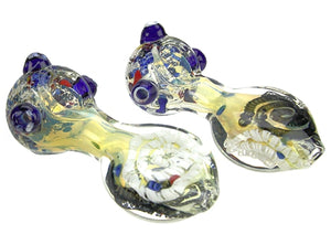 4″ Glass Spoon Pipe Clear 1pc