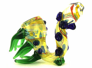 Glass Sherlock Bubbler Pipe