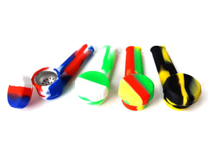 3.5″ Silicone Pipe with Lid