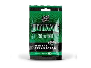 Ultra Enhanced Gold Ultimate 150MG MIT Herbal Relaxation Capsules