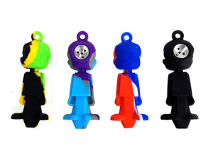 3.5″ Character Style Silicone Hand Pipe