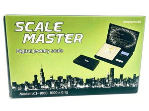 Scale Master Digital Jewelry Scale LC1-1000 1000 x 0.1g