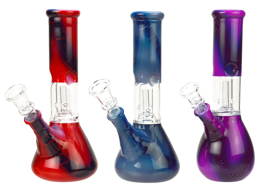 8″ Beaker Base Glass Water Pipe Bong