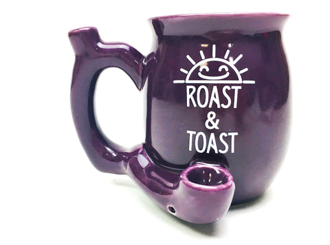 4'' Small Roast Toast Mug Smoking Ceramic Pipe