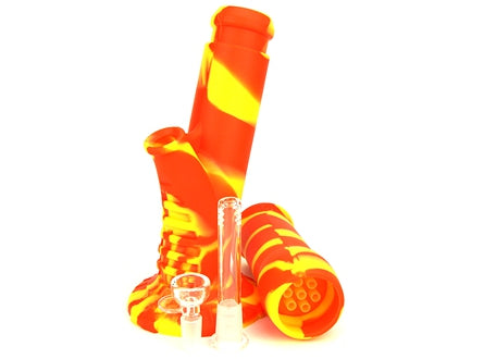 14″ Silicone Smoking Water Pipe
