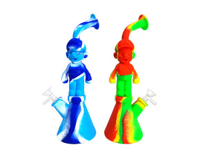 11.5″ Silicone Water Pipe Super Marlo Style