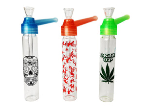 7.25″ New Style Top Puff Glass Water Pipe
