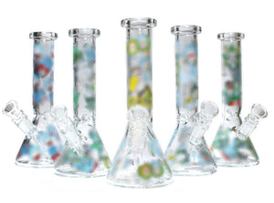 R&M Glass Water Pipe 8""