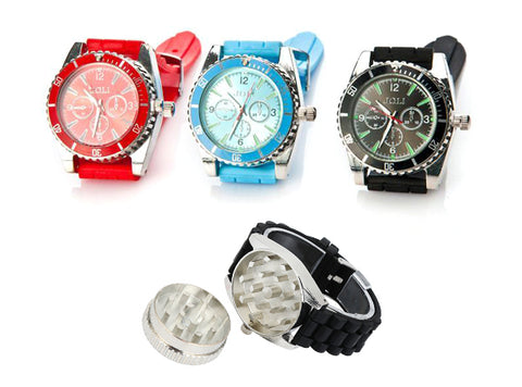 Wrist Watch Herb Grinder (RANDOM Color)
