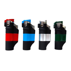 Triple Touch Lighter Butane Refillable 1pc