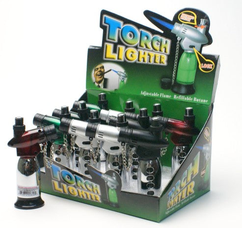 Standing torch lighter