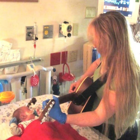 MacPhail Music Therapist visit