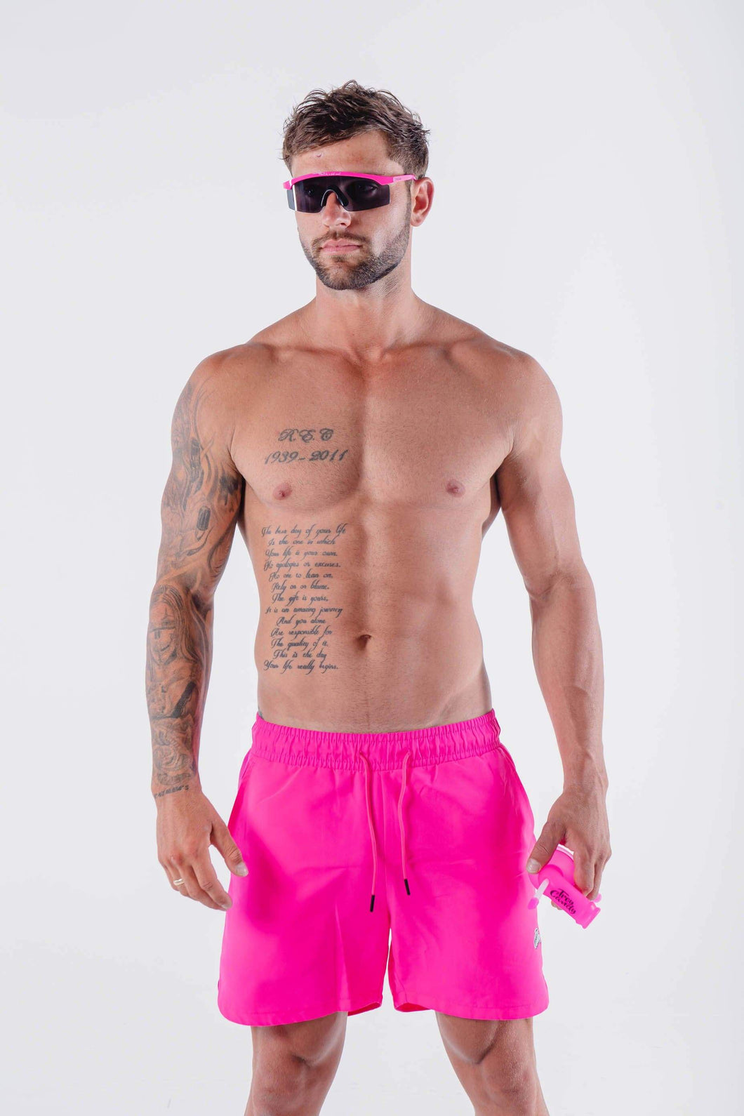 Troy Candy Board Shorts - Pink