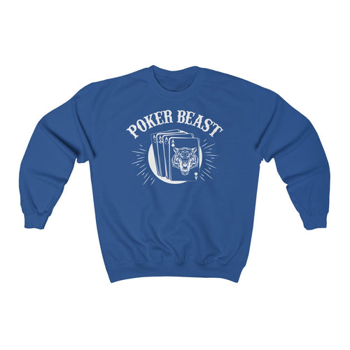 Poker Beast Unisex Heavy Blend™ Crewneck Sweatshirt