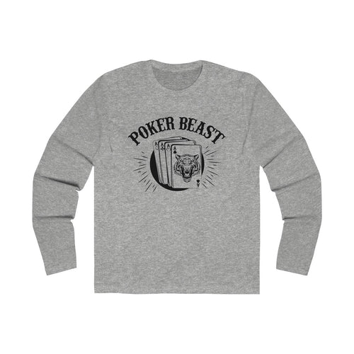 Men's Poker Beast Long Sleeve Crew