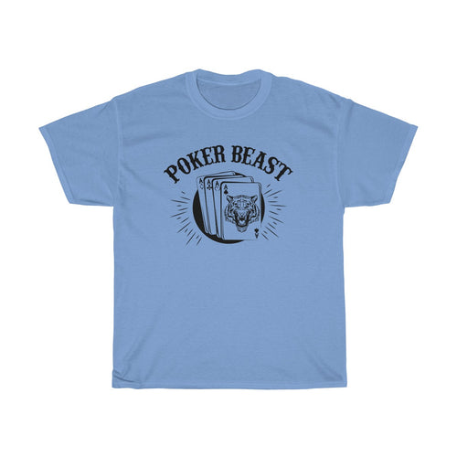 Poker Beast Unisex Heavy Cotton T-shirt