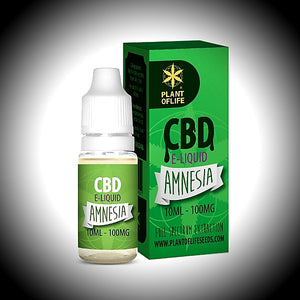 "e-liquide CBD Plant Of  Life ""AMNESIA"" 20ml 200Mg - World Of CBD France"