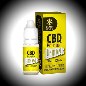 "e-liquide CBD Plant Of  Life ""LEMON HAZE"" 20ml 200Mg - World Of CBD France"
